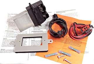 APDTY 084628 Blower Motor Resistor & Wiring Harness Pigtail Repair Upgrade Kit For Models Listed With ATC (ATC = Auto Temp Control; Replaces 4885482AC, 5179985AA, 68052436AA)