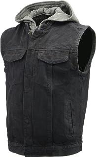193c4bb93 Amazon.com: Denim Motorcycle Jackets & Vests