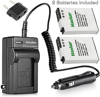 Kastar Battery (2-Pack) + Charger for Nikon EN-EL12 MH-65 & Coolpix AW100, AW100s, AW110, AW110s, S9900, S9700, S9500, S9300, S9200, S9100, S6300, S8100, P330, P310, P300, S1200pj, S1000pj, S620, S31