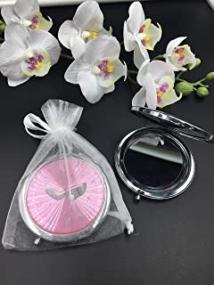 Shoe Design Mirror Compact Party Favors (12PCS) Sweet 15/ Wedding/Quinceanera/