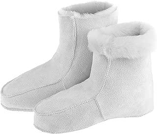 Russian Warm Cosy Fur House Slippers Socks 100% Natural Sheepskin