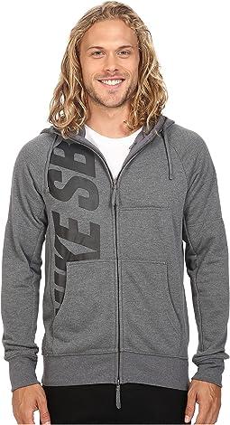 SB Lightweight Everett Dri-FIT Full Zip Hoodie