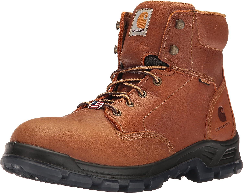 Carhartt Men's CMZ6040 MadeInUSA 6  SoftToe Work Boot
