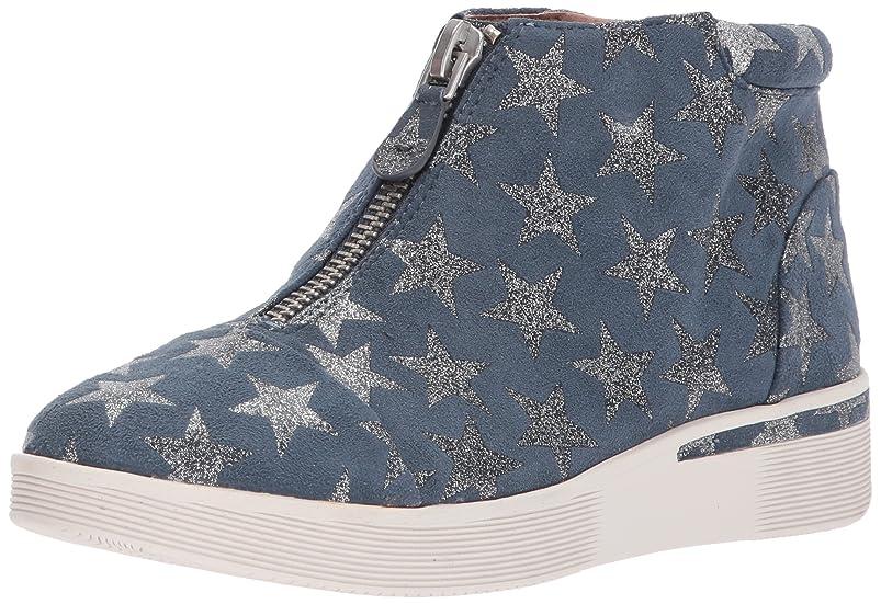 泳ぐ高さ同じ[Gentle Souls] Women's Hazel-fay Platform Midtop Front Zip Sneaker [並行輸入品]
