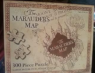 Universal Studios Wizarding World of Harry Potter Park Marauders Map Jigsaw Puzzle Lg 300 Pc.
