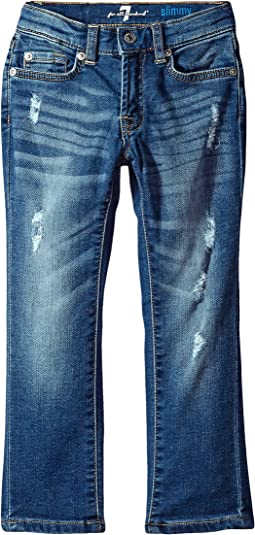 7 For All Mankind Kids - Denim Jeans in Desert Sun (Big Kids)