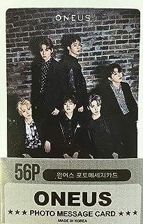 K-POP Group 2020 New Photo Message Card 56pcs set (Postcard / 56sheets) (ONEUS)