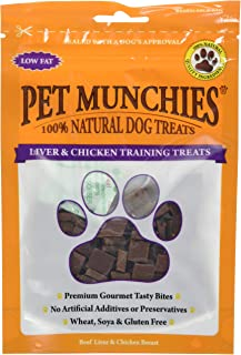 Pet Munchies Training Treats Liver and Chicken, 50 g