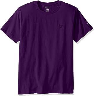 Champion 明星同款纯色圆领短袖T恤 男女同款