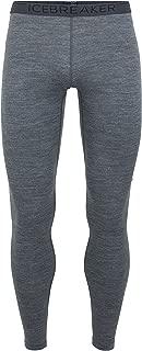 Icebreaker Merino Men's Oasis Midweight Base Layer Leggings, Merino Wool