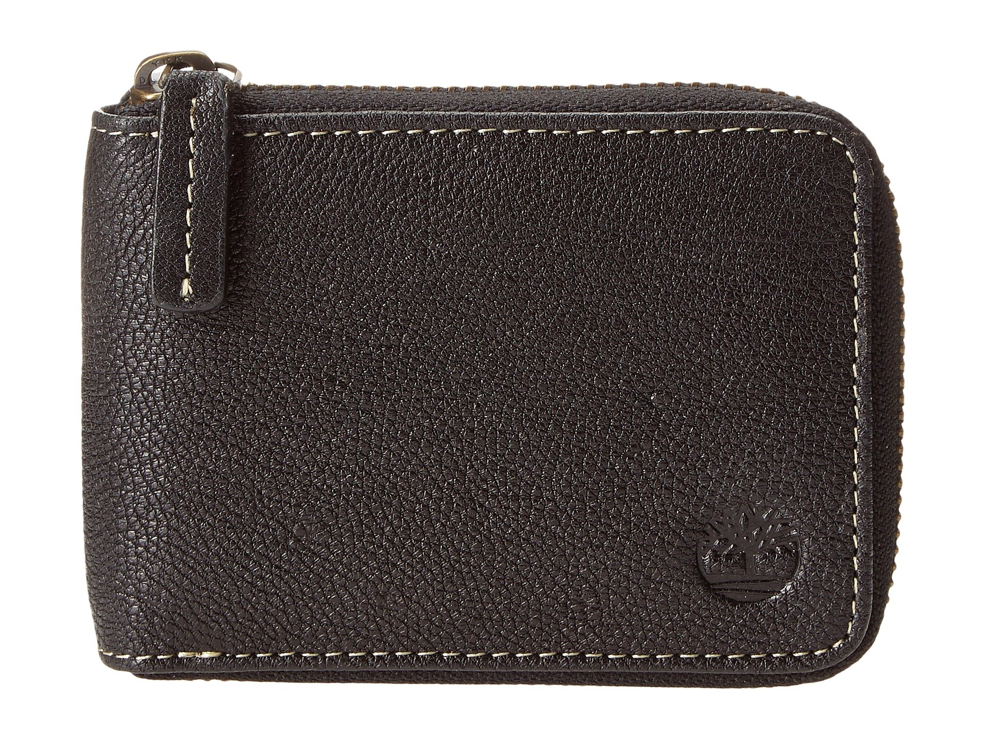 Monedero para Hombre Timberland Cavalieri Leather Zip Around Wallet  + Timberland en VeoyCompro.net