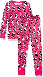 Niña Disney Star Wars Marvel Princesa Conjuntos de pijamas de algodón con corte ajustado