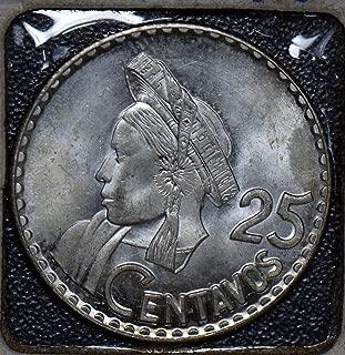 25 centavos de guatemala