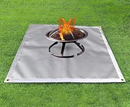Amazon Com Fire Pit Mat For Grass