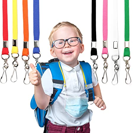 Children Face Mask Lanyard Genuine Leather Mask Holder Face Mask Lanyard Versatile Unisex Lanyard Simple