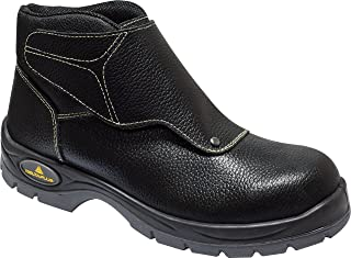 Delta Plus Panoply Cobra 3 S1P Mens Black Leather Welders Welding Safety Boots
