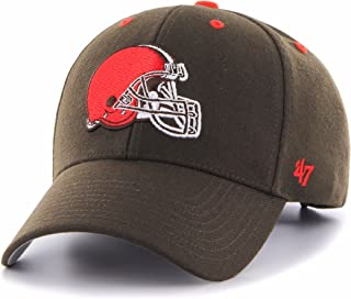 competitive price 3a009 a6642 NFL Clevelands  47 MVP Adjustable Hat, One Size, Brown