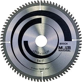 comprar comparacion Bosch 2 608 640 445 - Hoja de sierra circular Multi Material - 210 x 30 x 2,5 mm, 80 (pack de 1)