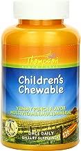 Thompson Multi Vitamin, Children's Punch Flavor, Chewable, 120 Count