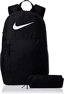 Nike Unisex-Child Backpack, Black/White - NKBA6603-010