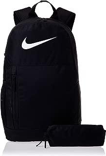 Nike Unisex-Child Backpack, Black/White - NKBA6603-10