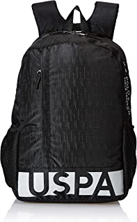 US Polo Association 25 Ltrs Black School Backpack (USAX0170)