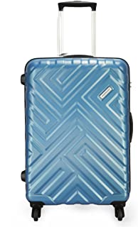 Aristocrat Polycarbonate 56 cms Arctic Blue Hardsided Carry On (MAZE56TZATB)
