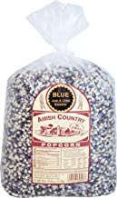 Amish Country Popcorn - Blue Kernels (6 Pound Bag) - Old Fashioned, Non GMO, and Gluten Free - with Recipe Guide