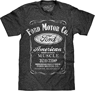 Tee Luv Ford American Made Muscle Shirt - Licensed Ford Motor Company Shirt