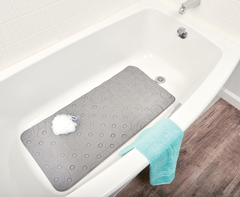 Ginsey, Grey Playtex Cushy Comfy Safety Bath Mat
