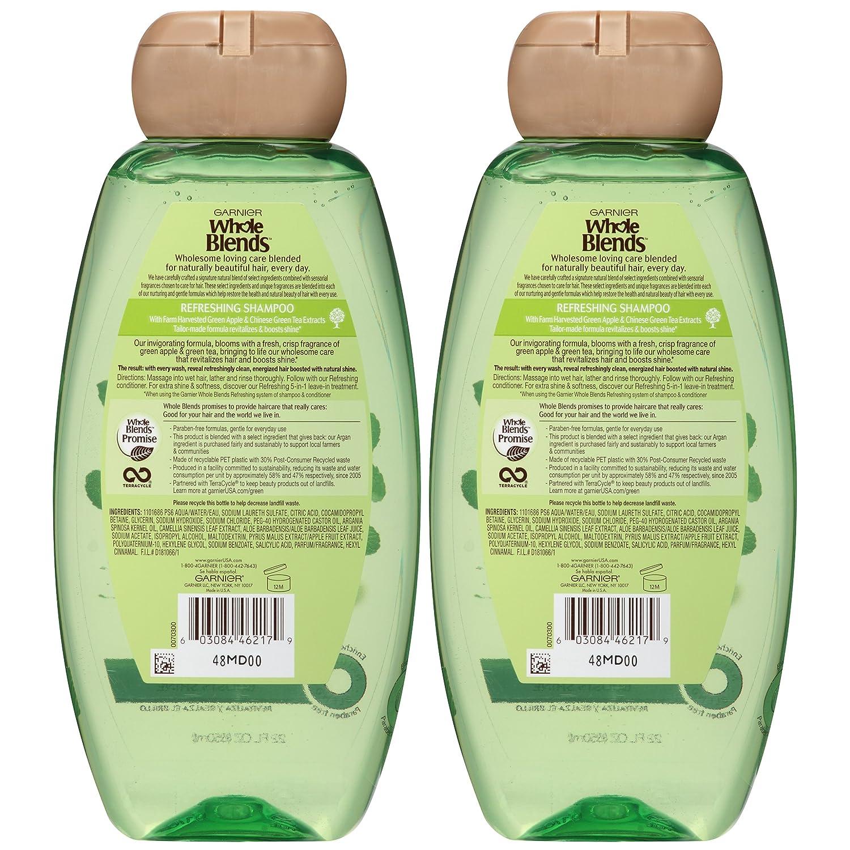 Garnier Whole Blends Refreshing 5-in-1 Lightweight Detangler Spray, Normal Hair, 5 fl. oz. : Beauty