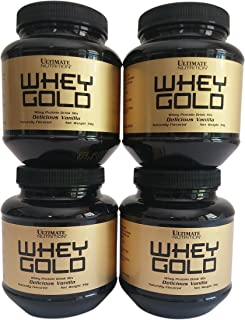 Ultimate Nutrition Whey Gold Protein Vanilla 4 Serving Sample Pack