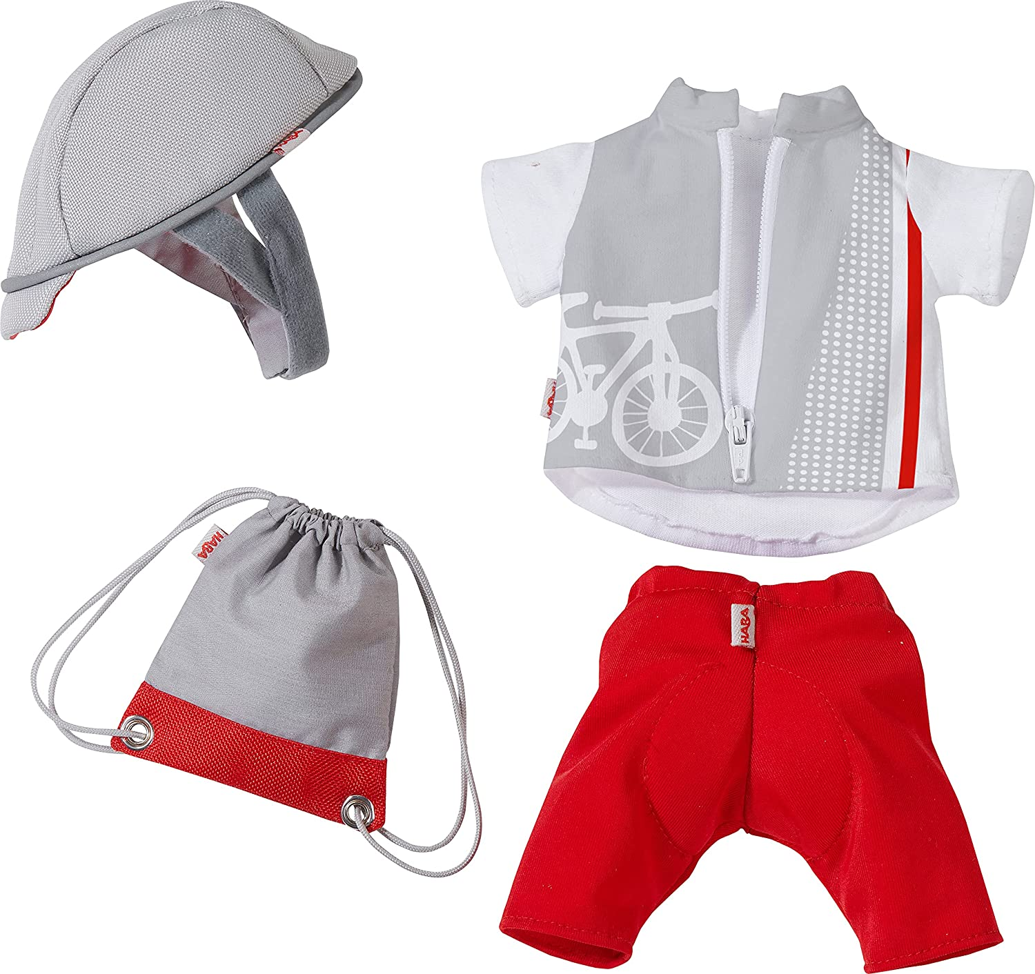 HABA Bike Time Outfit Soft Dolls 12