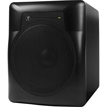 Mackie MR Series, Studio Subwoofer 10-Inch Professional-Grade with 120 Watts of class A/B Amplification, Powered (MRS10)