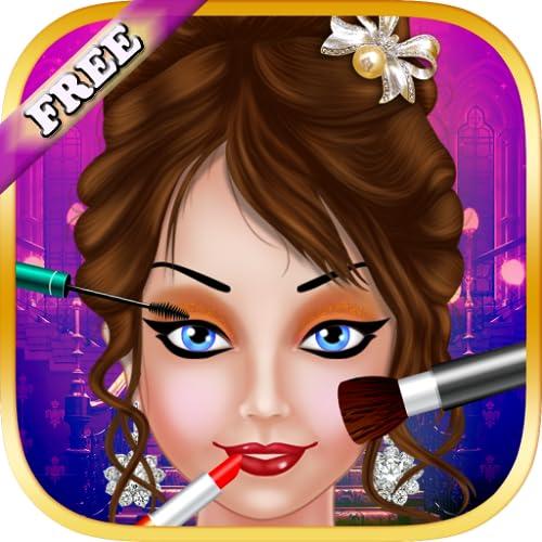 Maquiagem e salão de beleza para meninas : jogo de Spa para a menina e as crianças ! GRATUITO