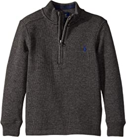 Polo Ralph Lauren Kids - French-Rib 1/2 Zip Pullover (Toddler)