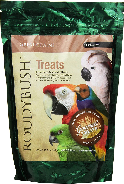 Roudybush Great Grains Soak and Feed Bird Food, 17.6Pound