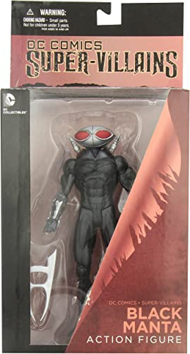 Comics DC Sammlerstücke super-Villains SchwarzManta Action Figur