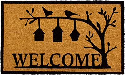 Storm Stopper Bird House Welcome Printed Coir Mat, 18 in. x 28