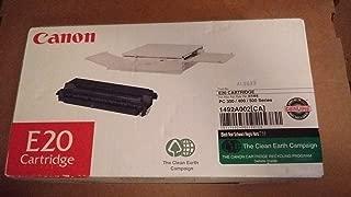 Canon E20 Toner Cartridge (1492A002AA, 1492A002), 3000 Yield, Black