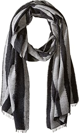 Recycled Cotton Jacquard Scarf