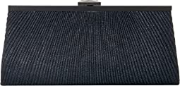 Sloan Lurex Pleated Framed Clutch