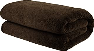 American Bath Towels, 40x80 Soft and Absorbent 650 GSM Premium Hotel and Spa Quality Oversized Organic Turkish Cotton Bath Sheet Towel, Dark Brown