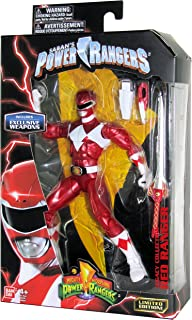 Mighty Morphin Power Rangers Legacy Collection Limited Edition 6 inch Red Ranger with Metallic Finish and Exclusive Weapons