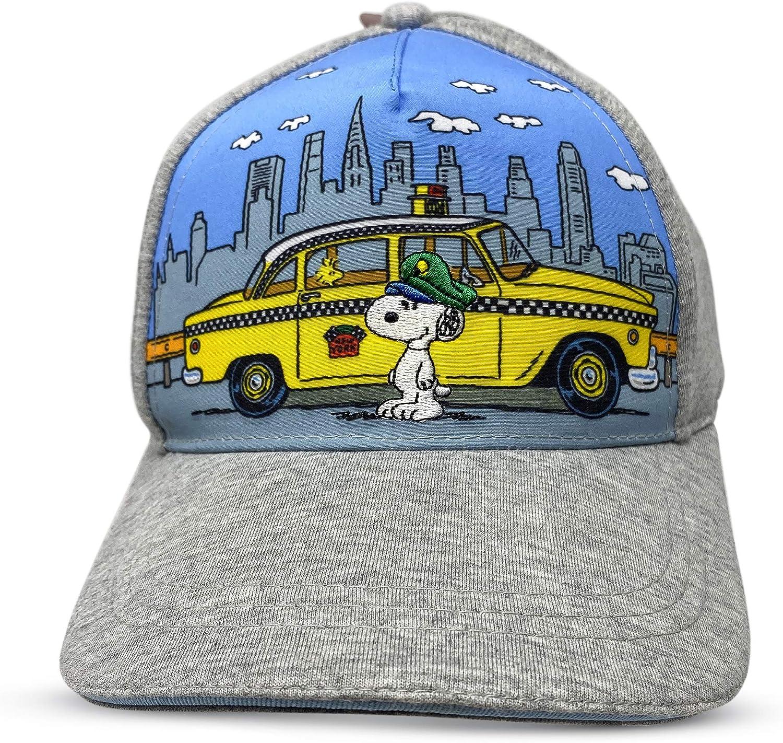 Berkshire Fashions Snoopy Peanuts Casual Baseball Cap Gray