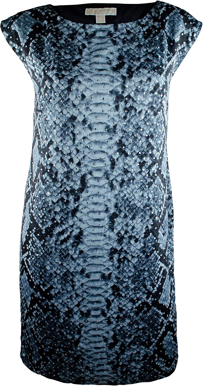 Women's Animal Studded Atlanta Max 46% OFF Mall Print Dress Shift