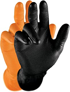 Gants de protection GRIPPAZ 246 NITRILnoirs taille XL (50 pi
