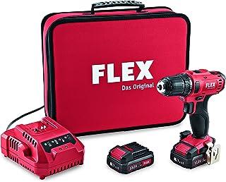 Flex Batteridriven borrskruvmejsel (2-växlad skruv) DD 2G 10.8-LD – 450.561