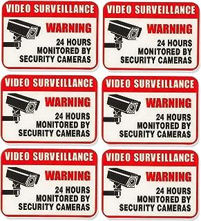 AmazonBasics Video Surveillance Sign, 2 1/2