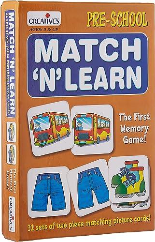 Creative Educational Aids P. Ltd. - CRE0626 Match N Learn